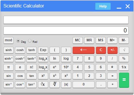 Virtual Calculator for GATE