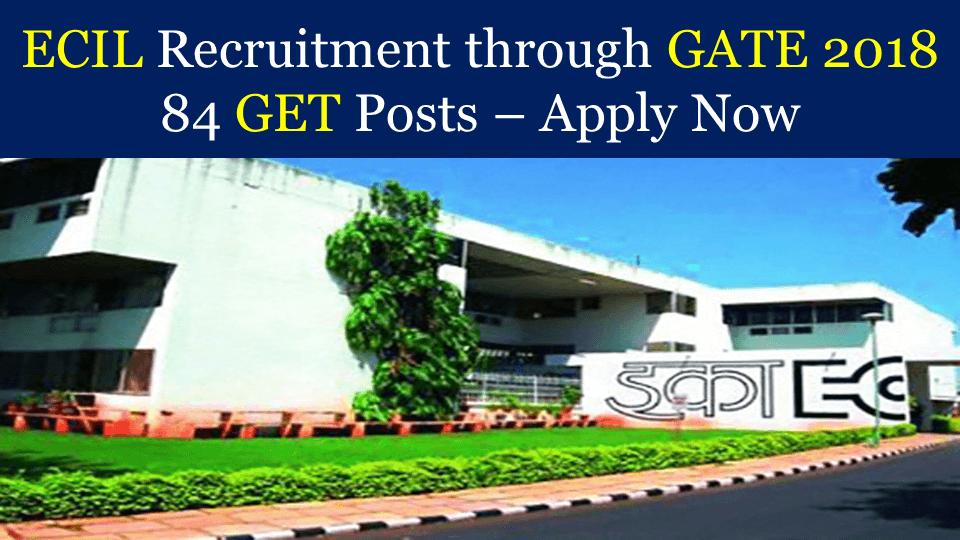 ECIL Recruitment through GATE