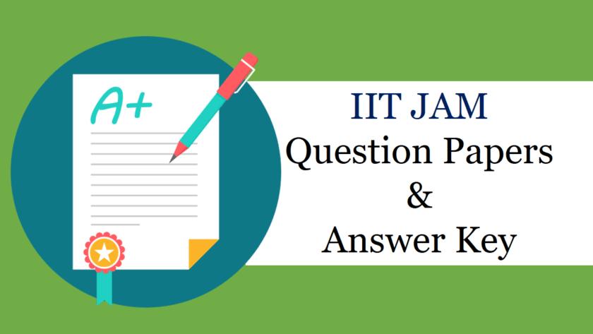 IIT JAM 2019 Answer Key
