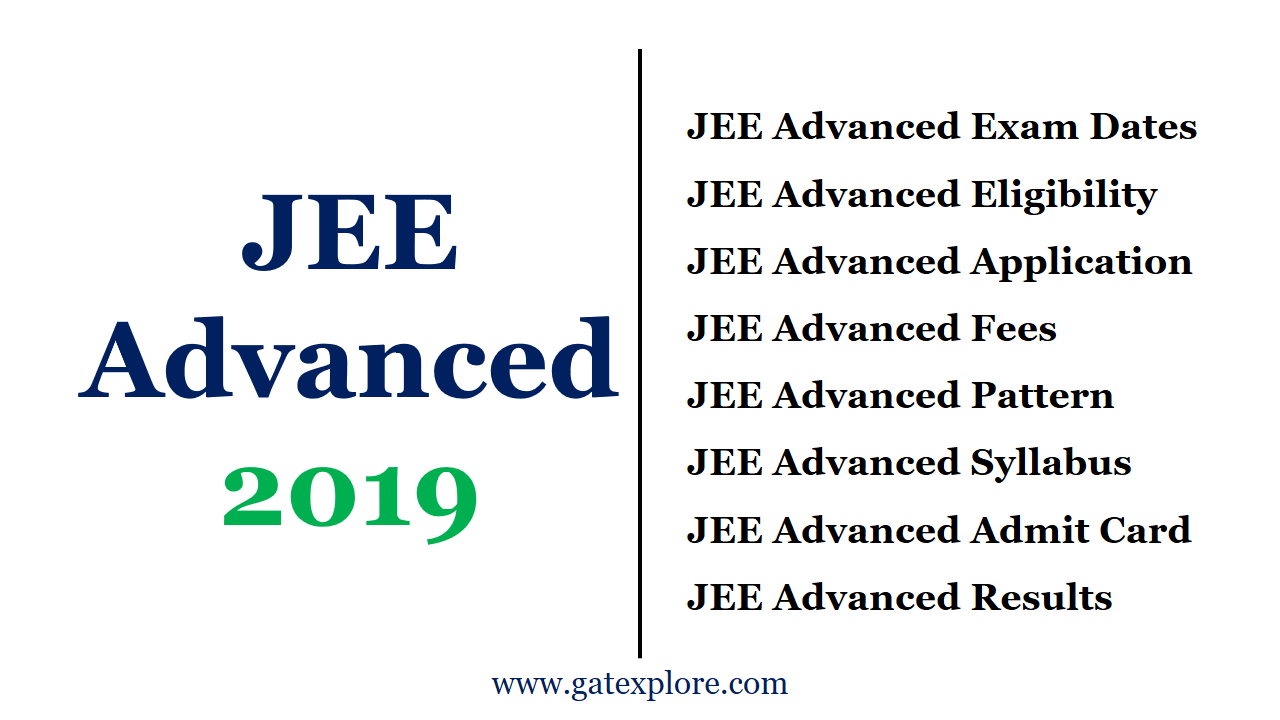 JEE Advanced 2019