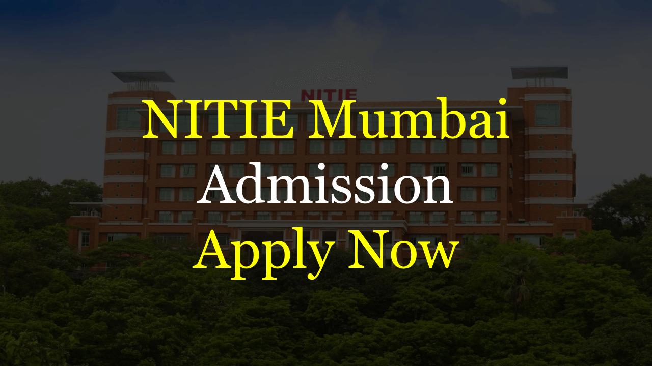 NITIE Admission 2019